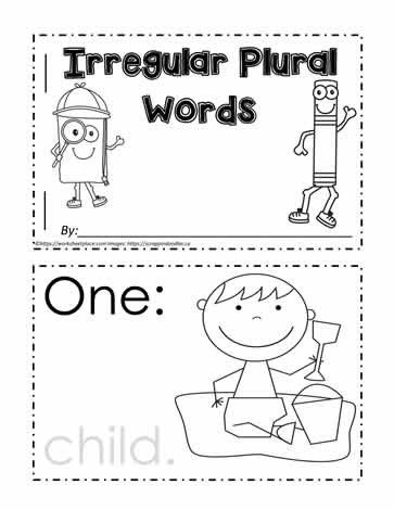 Irregular Plural Booklet