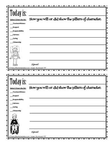 Daily Character Reflections