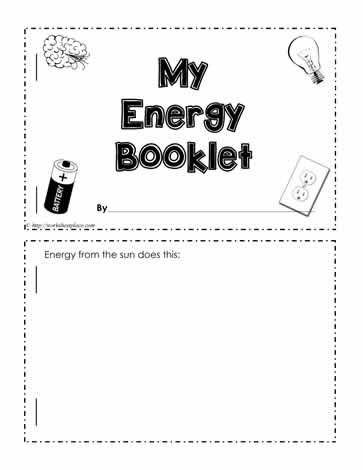 Energy Worksheet Worksheets