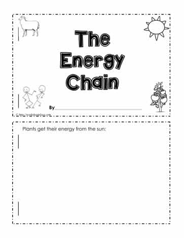 Energy Chain Worksheet Worksheets