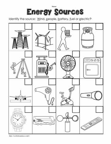 Printables Energy Worksheet Answers Safarmediapps Worksheets