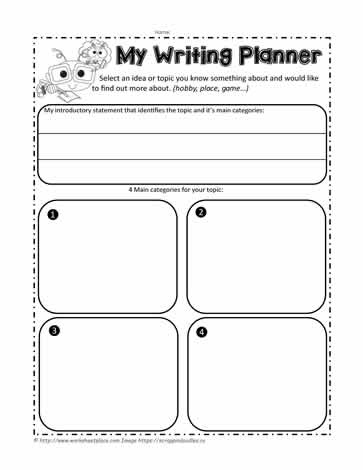 Expository Graphic Organizer