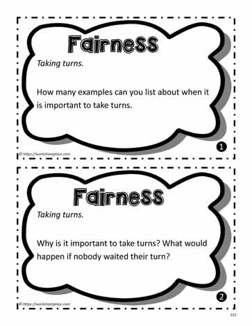 Fairness Task Cards