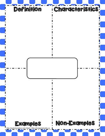Frayer ModelWorksheets