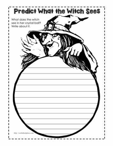 Crystal Ball Prediction Worksheet Worksheets