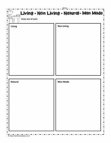 math worksheet : living things worksheet for kindergarten  k5 worksheets : Living And Nonliving Things Worksheets For Kindergarten