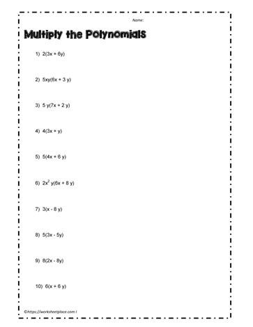 All Worksheets » Long Division Polynomials Worksheets - Printable ...