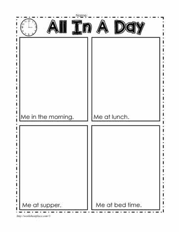 Seasons and Days Worksheets