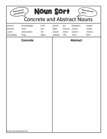 List Of  mon Abstract Nouns Pdf  incity info additionally Concrete and Abstract Nouns   Nouns in addition  further Concrete and Abstract Nouns Worksheet 2   All Kids  work likewise Abstract Nouns Lesson Grade 3 Concrete And Worksheets 3rd Noun Plan together with Using concrete and abstract nouns worksheet   K5 Learning further Abstract Noun Worksheets Concrete And Nouns Worksheet Answers Grade as well Concrete and Abstract Nouns Worksheet Nouns Worksheet additionally Abstract or Concrete  Worksheet   Lesson Pla    Entirely in addition Concrete And Abstract Nouns Worksheet Print Out A Printable moreover Concrete and Abstract Nouns additionally abstract noun worksheets with answers together with Concrete and Abstract Nouns Worksheet   Answers also Concrete and Abstract Nouns Worksheet   Preview also Abstract or Concrete Nouns  Worksheets moreover Fillable Online Concrete or Abstract Nouns Worksheet  Labeling Part. on concrete and abstract nouns worksheet