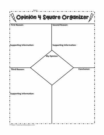 Opinion 4 Square Organizer