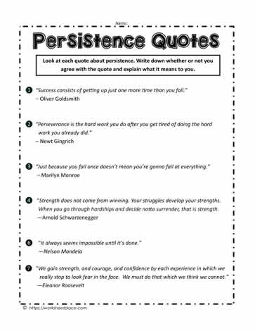 Persistence Quotes