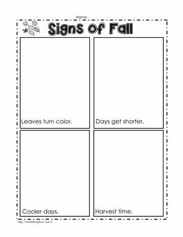 Free Printable Fall Activity Maze Worksheet for Kindergarten