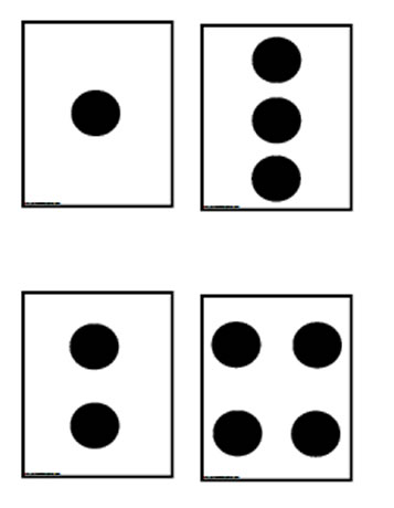 graphic about Printable Number Cards 1-10 identified as Range Playing cards 1-10 Worksheets