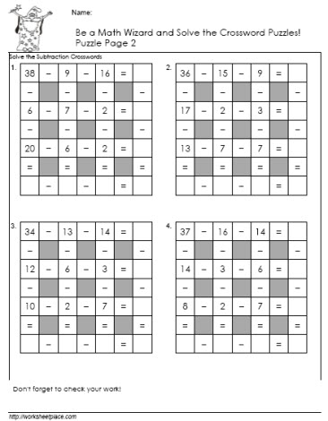 Subtractiion-Crossword-Puzzle-2