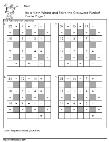 Subtractiion-Crossword-Puzzle-6