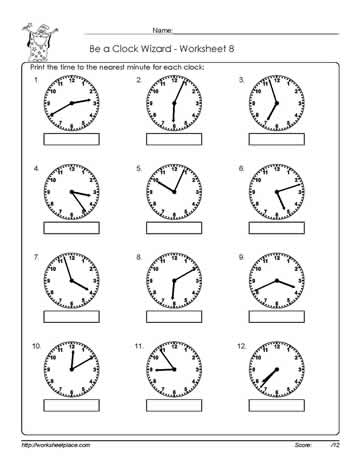 Telling-Time-Worksheet-8