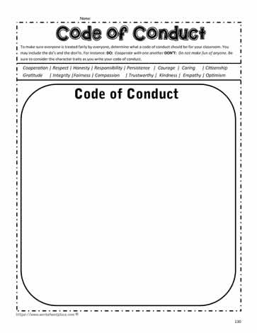 Traits: Code of Conduct
