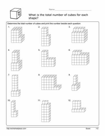 these volume cube worksheets are considered composite figures there is more than one figure to determine what the volume is - Volume Of Composite Figures Worksheet