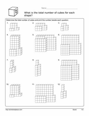 math worksheet : volume cube worksheetworksheets : Math Cubes Worksheet