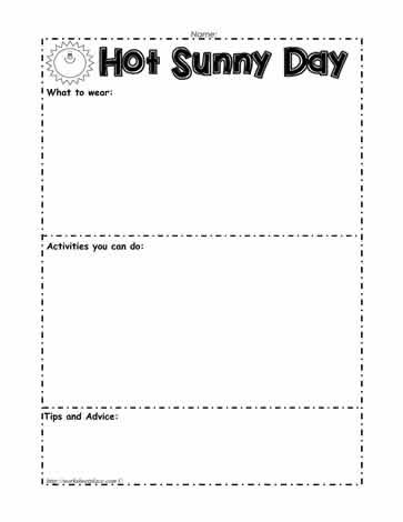 Weather WorksheetsWorksheets