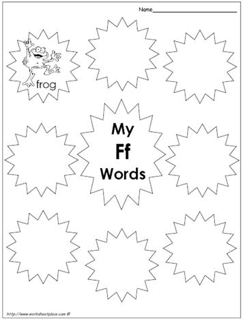 My Ff Words