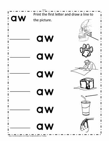 image relating to Family Printables titled aw Term Household Printables Worksheets
