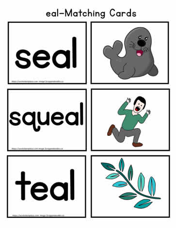 eal Vocabulary Match