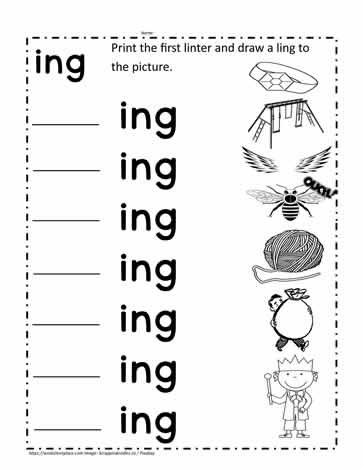 ing Rhyming Words Worksheet Worksheets