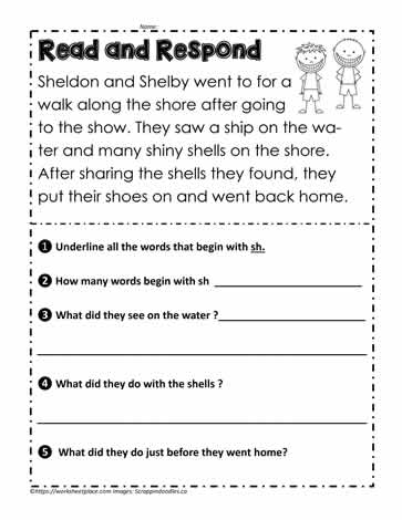 Read and Respond sh Digraph