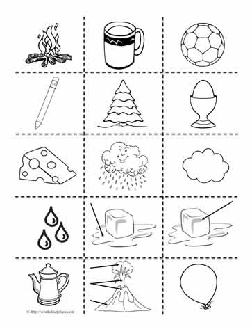 matter clipart worksheets. Black Bedroom Furniture Sets. Home Design Ideas