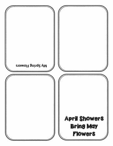 Spring Showers Card