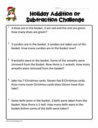 2nd Grade Word Problems