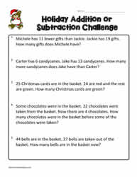 3rd Grade Word Problems