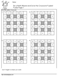 Addition-Crossword-Puzzle-1