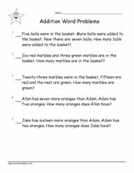 Addition Word Problems to 20-4