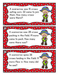 Addition task cards to 50