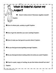 Activity for Anger