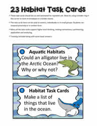 Task Card for Habitat