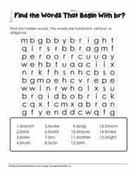 Wordsearch for br