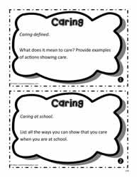 Caring Task Cards