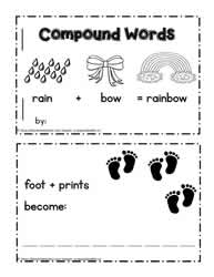 Mini Book of Compound Words