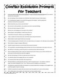 Prompts For Teachers to Use