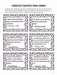 Conflict Resolution Quotes for Students