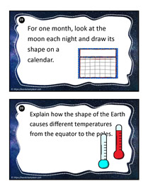 Earth and Space Task Cards 19-20