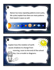 Earth and Space Task Cards 23-24