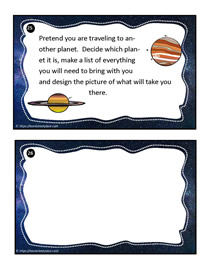 Earth and Space Task Cards 25
