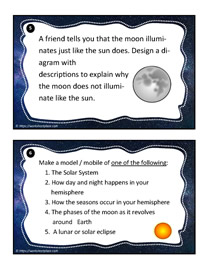 Earth and Space Task Cards 5-6