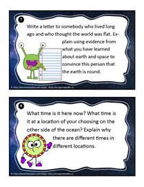 Earth and Space Task Cards 7-8