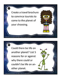 Earth and Space Task Cards 9-10
