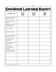 Emotional Learning Report